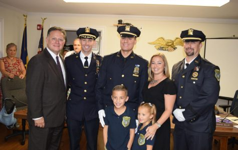 Pelham Police Officer Brian Hendrie promoted to sergeant