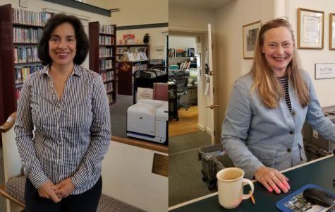 Bookmark: Library itself brought Ruth Konigsberg and Gail Vidales to join staff