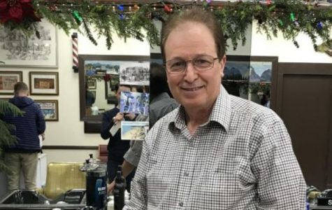 Frank La Spisa, the heart of Ralph's barber shop, has cut and styled hair of Pelhamites since 2002