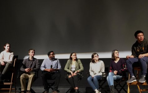 Slideshow: PMHS research students speak at Picture House after screening of 'Science Fair'