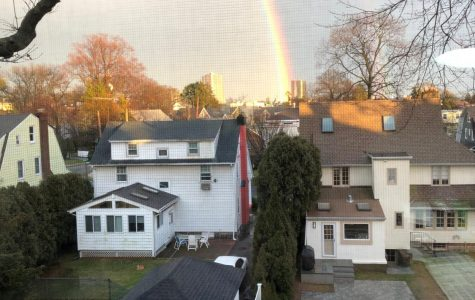 Stormy day's end: Rainbow lands in New Rochelle