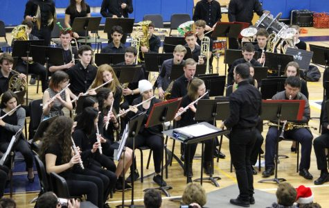 PMHS orchestra, band finish winter concert season Dec. 17 and 20 with performances (includes slideshow)