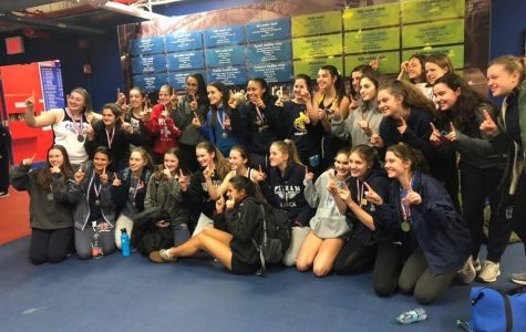 Girls track and field wins league championships for second year in a row; boys finish third