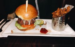 Vegetarian burgers at prime 16 are a MUST try