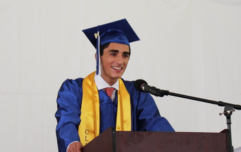 Michael Salama's graduation speech: A scavenger hunt into the past reveals what's important now