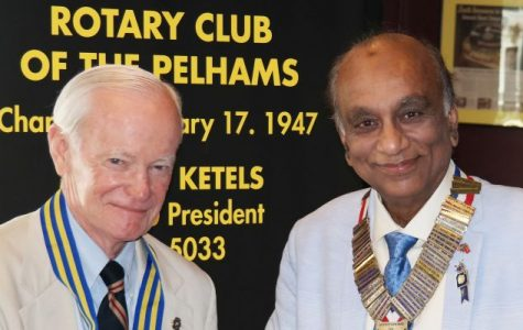 Marty Ketels installed as president of Rotary Club of the Pelhams