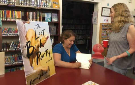 Pelham resident Karen Dukess hosts book launch for first novel 'The Last Book Party'