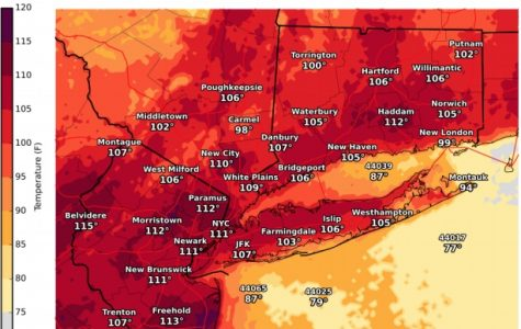 National Weather Service publishes heat maps for weekend as excessive heat warning goes into effect