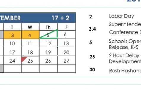 Pelham School District publishes 2019-20 calendar, including two-hour delays, early release days