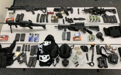 Tuckahoe Police arrest man with large cache of weapons, including 5 assault rifles with high-capacity magazines