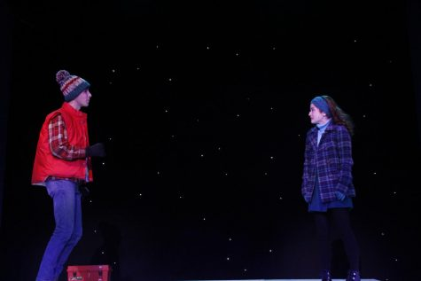 Foto Feature: Rehearsing for PMHS's 'Almost, Maine' playing Friday and Saturday at 7:30 p.m., Sunday at 2 p.m.