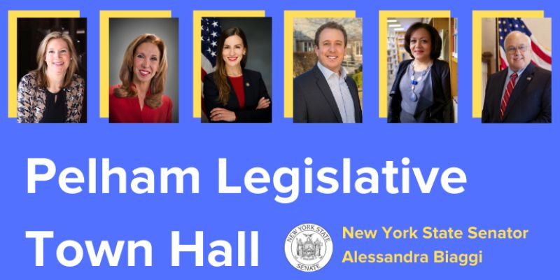 Pelham's legislative leaders to take questions Wednesday during town hall co-moderated by Pelham Examiner, Pelham PLUS