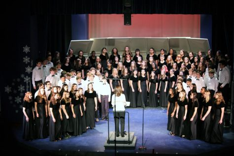 PMHS Tri-M Music Honor Society inducted 29 on Thursday