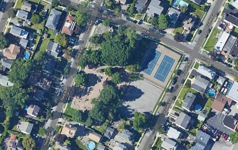 Junior League's plans for Julianne's Playground: Lawn space for blacktop, student-funded basketball hoop