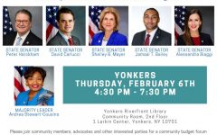 Westchester State Senate delegation to hold budget forum Feb . 6 in Yonkers