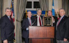 George Williams of A.G. Williams wins award for charity work from American Hellenic Educational Progressive Association