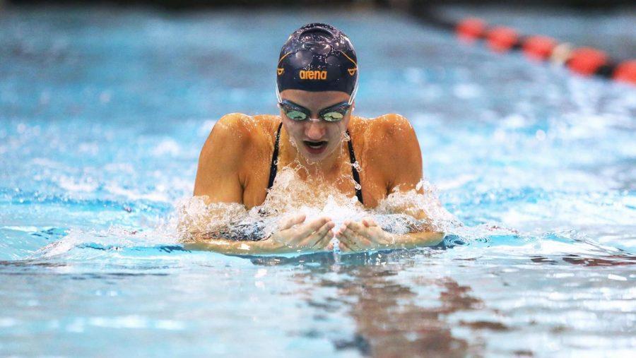 PMHS alumna Douglass dominates swimming records, ACC recognition at UVA