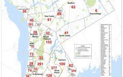 Westchester reports Covid-19 cases by municipality: Pelham Manor 33, Pelham 39