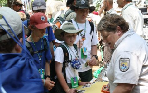 Boy Scouts at the 2010 Jamboree.
