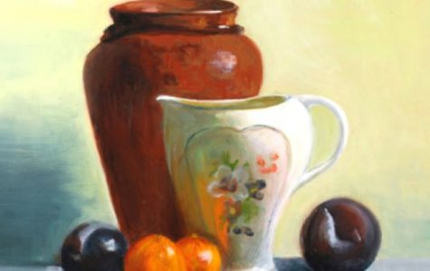 Still Life with White Vase by Sylvia Vigliani.