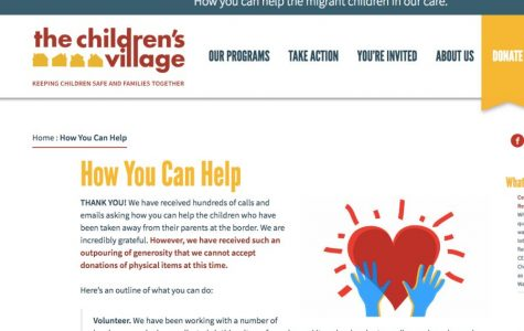 The website of Children's Village in Dobbs Ferry explains how to help migrant children separated from their parents.