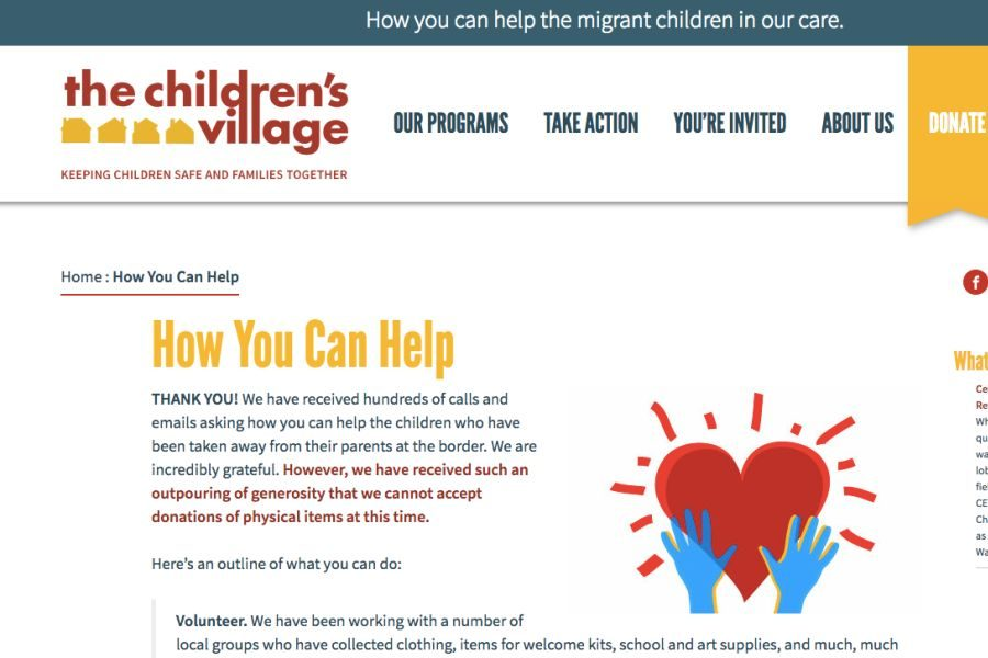The+website+of+Children%27s+Village+in+Dobbs+Ferry+explains+how+to+help+migrant+children+separated+from+their+parents.