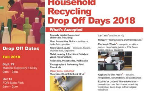 Westchester County 2018 household recycling