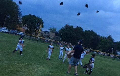 Pelham Blue u-8 boys summer baseball team wins championship