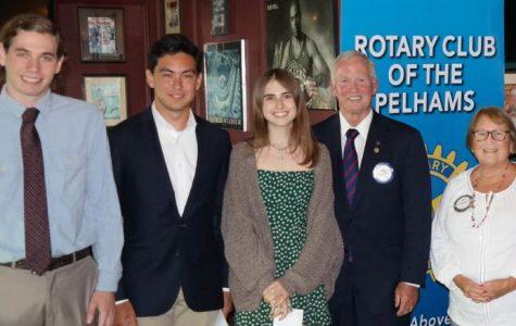 Pelham Rotary honors scholarship winners for 2015-2018