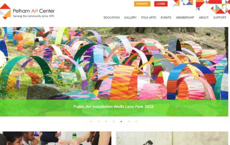 Pelham Art Center unveils new website