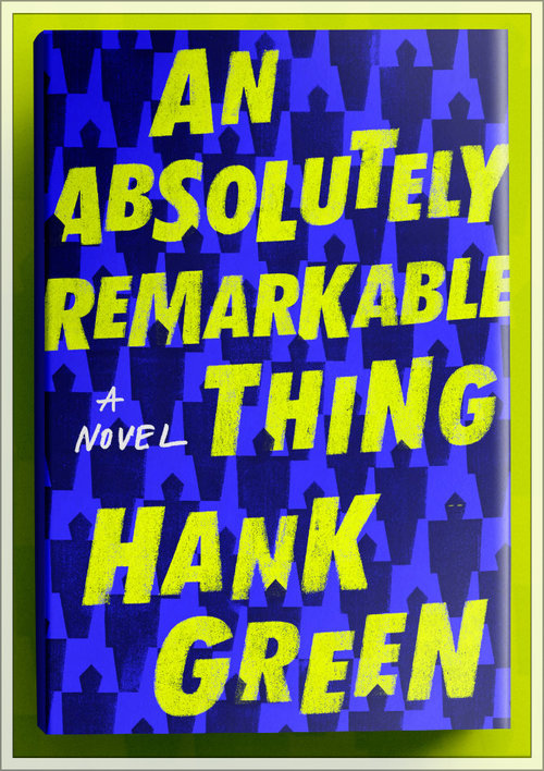 Author Hank Green at Town Hall: an absolutely remarkable thing