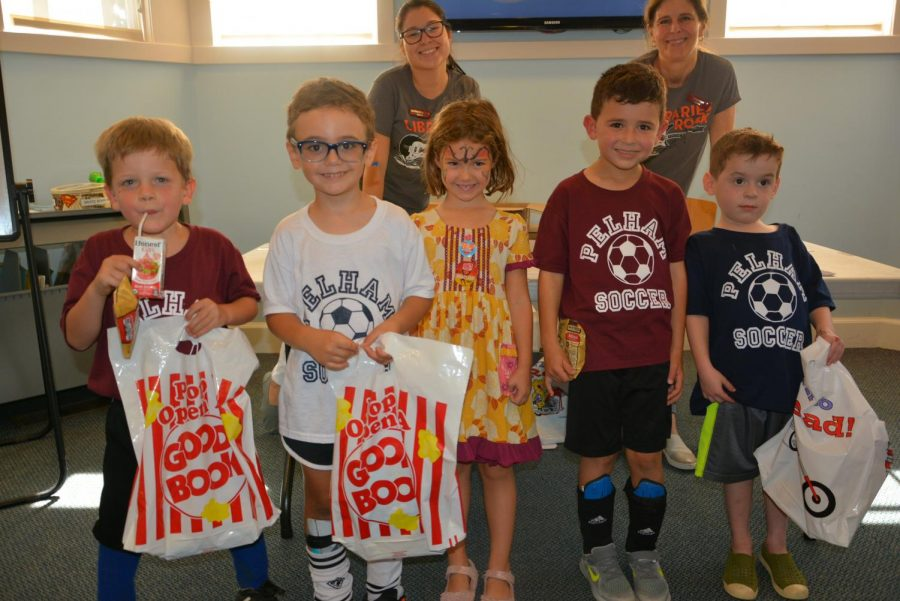 Pelham Library's K-Day gives kids 'official license...to let their imagination run wild'