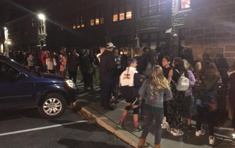 Line for PMHS Senior Haunted House at 7:02 p.m.—updated with slideshow