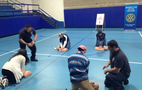 CPR Training at PMHS.