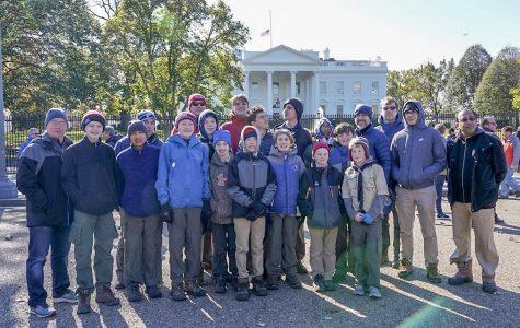 Pelham Troop 1 Boy Scouts spend Veterans Day weekend in Washington, D.C.