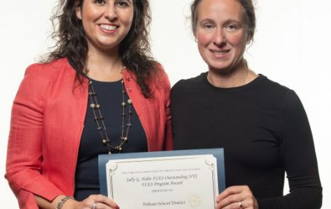 Pelham FLES teachers Lauren Gobbo and Fran Corelli.