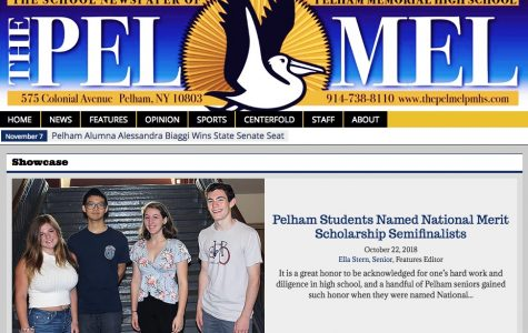 Pel Mel: 'Stop the Presses: Pelham Examiner is Town's First Student-Run, Student-Owned Paper'