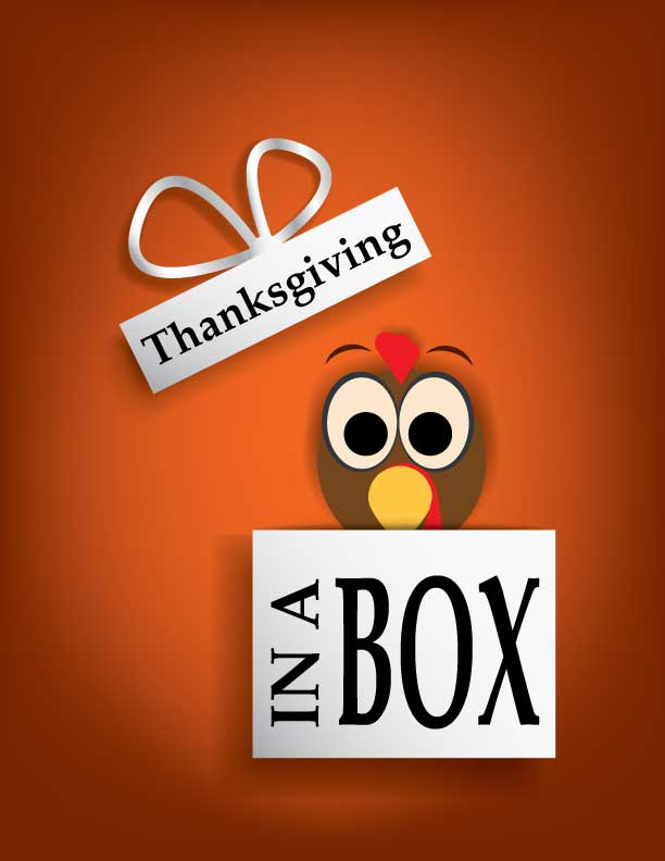 PMHS+foundations+of+learning+class+delivers+Thanksgiving-In-A-Box+to+eight+families