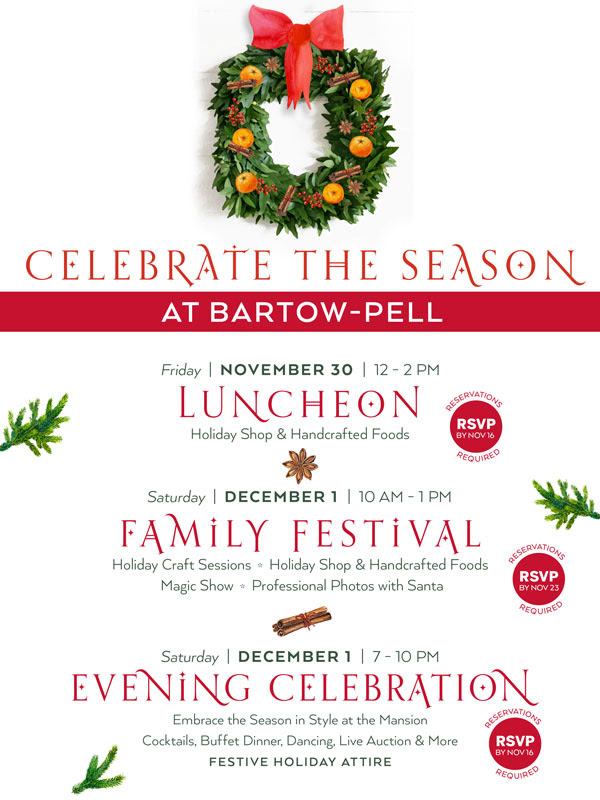 Bartow-Pell+holiday+events+start+Friday+with+lunch%2C+family+festival%2C+evening+fete