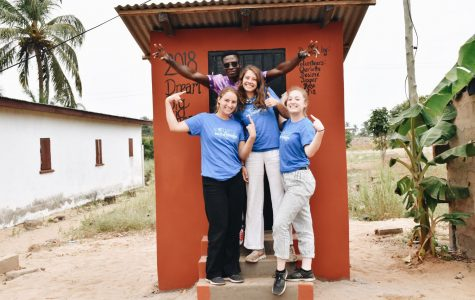 Charlotte Cares about Dream Big Ghana