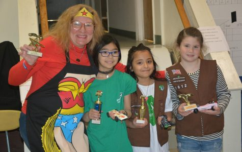 Pelham Girl Scouts hold Second Annual Pinewood Derby Day