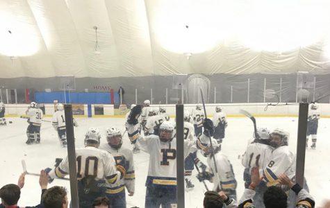 PMHS athletic department organizes fan bus for varsity hockey section final Feb. 24