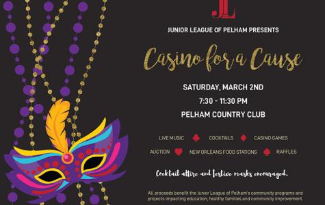 Junior League of Pelham to host Casino Night gala on March 2