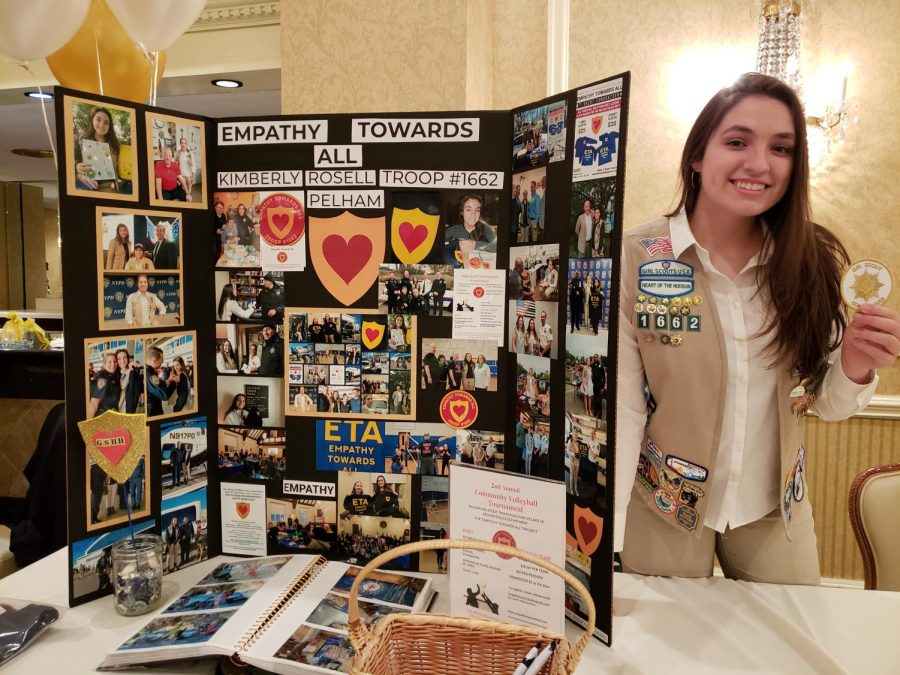 Kimberly+Rosell+receives+Gold+Award%2C+Girl+Scouting%27s+highest+achievement%2C+for+public-police+empathy+project