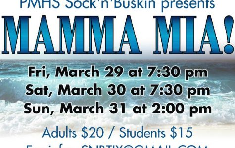 High school's Sock 'n' Buskin' troupe will perform 'Mamma Mia' this weekend