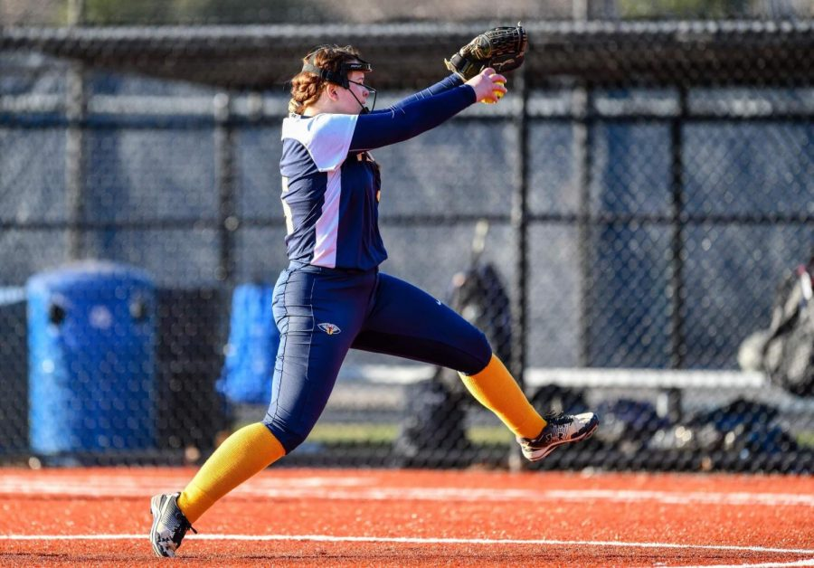 Softball starts strong, led by pitching from K.P. Boggs
