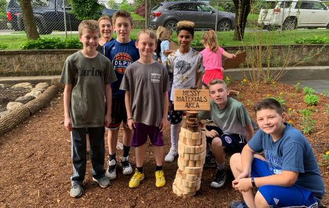 Foto Feature: Ribbon cutting for Siwanoy outdoor classroom