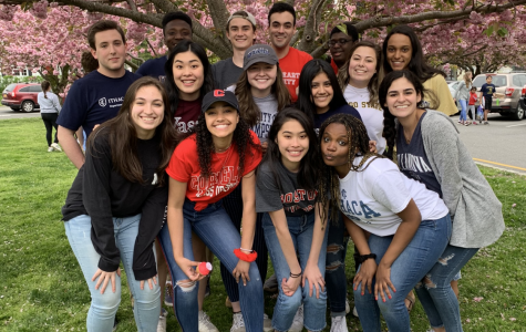 Foto Feature: National College Decision Day celebrated under PMHS's blooming cherry trees