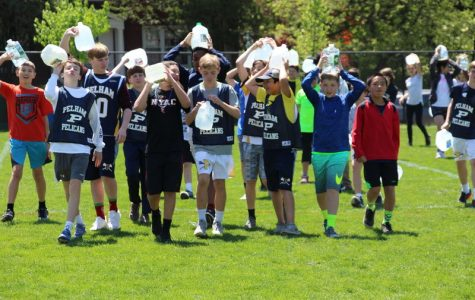 PMS 7th grade students walk for water to understand South Sudan