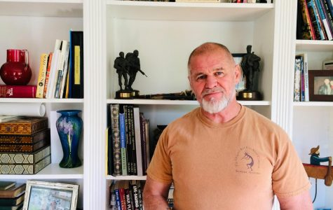 Retired British special forces officer Bob Shepherd uses security expertise to keep others out of harm's way